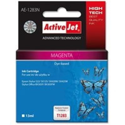 Action ActiveJet AE-1283N (Epson T1283)  Ink Cartridge, Magenta