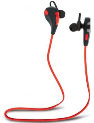 Bluetooth ausinės FOREVER BSH-100 BSH-100 red-black