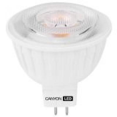 CANYON MRGU5.3/7W12VW38 LED lamp, MR shape, GU5.3, 7.5W, 12V, 38°, 540 lm, 2700K, Ra80, 50000 h