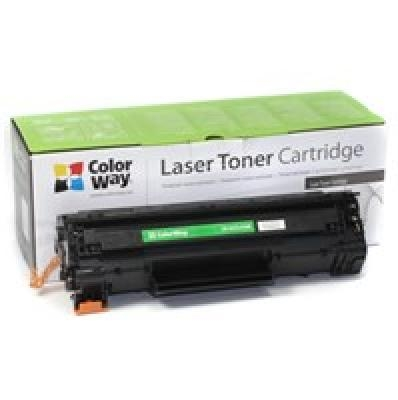 ColorWay Econom Toner Cartridge, Black, HP CB435A/CB436A/CE285A; Canon 712/713/725