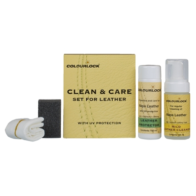 Colourlock Leather Mild Cleaning & Conditioning Kit