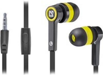 DEFENDER Pulse 420 black + yellow in-ear