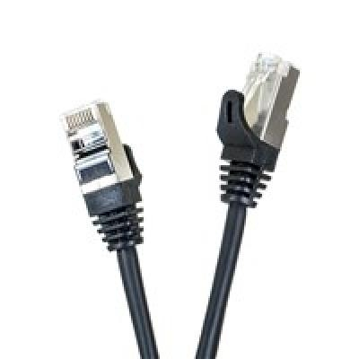 Digitalbox START.LAN patchcord RJ45 cat.5e FTP 10m juoda