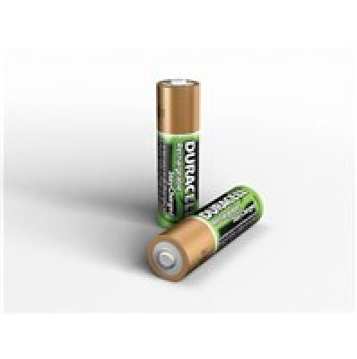 Duracell AA/HR6, 2400 mAh, Rechargeable Accu Stay Charged Ni-MH, 2 pc(s)