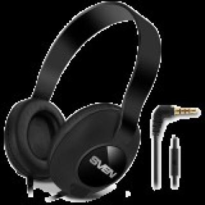 Headphones with microphone SVEN AP-310M, black