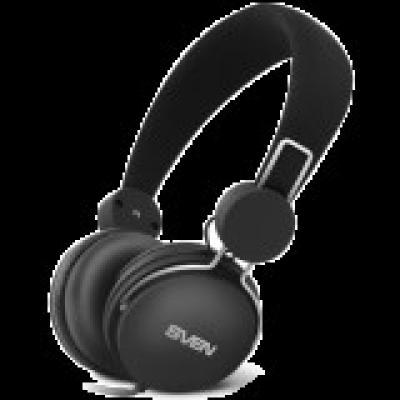 Headphones with microphone SVEN AP-320M, black