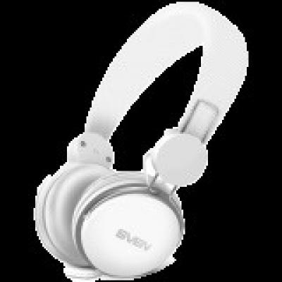 Headphones with microphone SVEN AP-321M, white