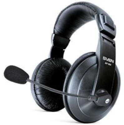 Headphones with microphone SVEN AP-860M, black
