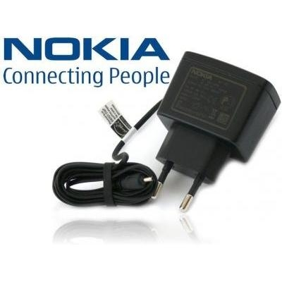 Įkroviklis Nokia AC-3E Original charger 2.5mm 350mA Black