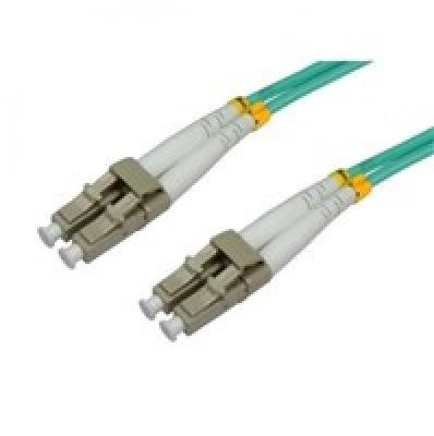 Intellinet Fiber optic patch cable LC-LC duplex 1m 50/125 OM3 multimode