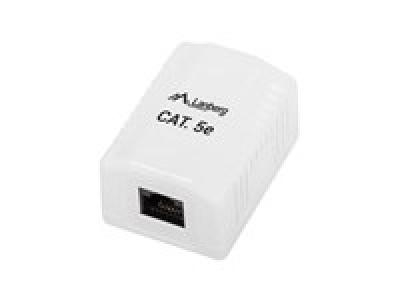 Lanberg UTP Data Box 1-port RJ45 unshielded cat. 5E