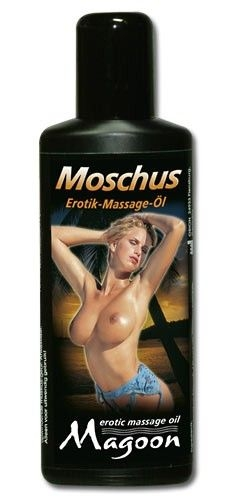 Masažinis aliejus Magoon Musk Erotic Massage Oil 100 ml.
