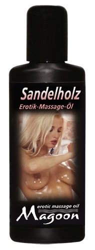 Masažinis aliejus Magoon Sandalwood massage 50 ml.