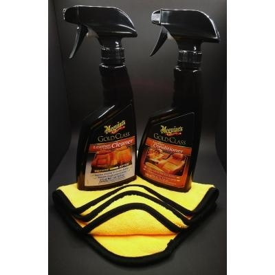 Meguiar's Gold Class Leather rinkinys