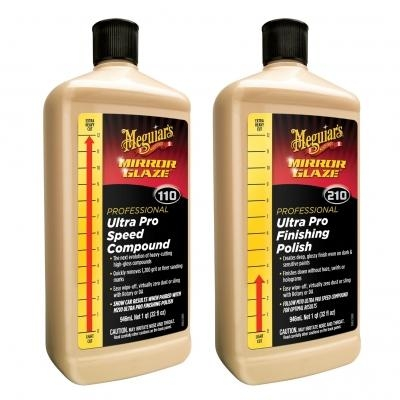 Meguiar's Ultra Pro Cut 110 & Finish 210 rinkinys