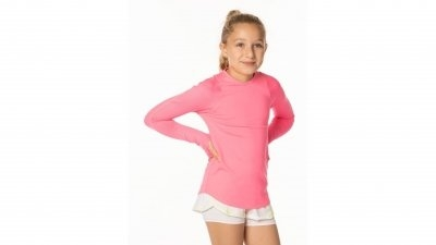 Palaidinė mergaitėms Lucky in Love Girl's Core Atlhletic Long Sleeve