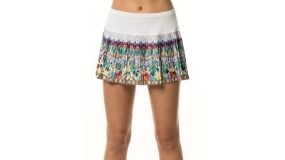 Sijonas Lucky in Love Women's Flora Pleated Skirt