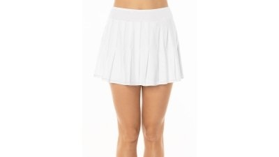 Sijonas Lucky in Love Women's Long Retro Pleat Skirt