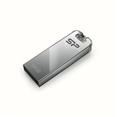 Silicon Power Touch T03 8 GB, USB 2.0, Silver