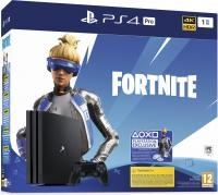Sony Playstation 4 Pro 1TB black + Fortnite