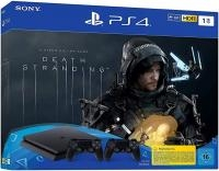 Sony Playstation 4 Slim 1TB+Death Stranding+DS4 pultas (Black friday)