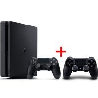 Sony Playstation 4 Slim 1TB + FIFA 20 + 2 pulteliai(Black friday)