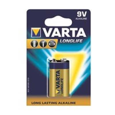 VARTA alkaline batteries Hi-voltage 9V (typ 6LR61) 1pcs longlife
