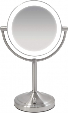 Veidrodis su LED apšvietimu Homedics Double Sided - Magnified Makeup Beauty Mirror MIR-8150