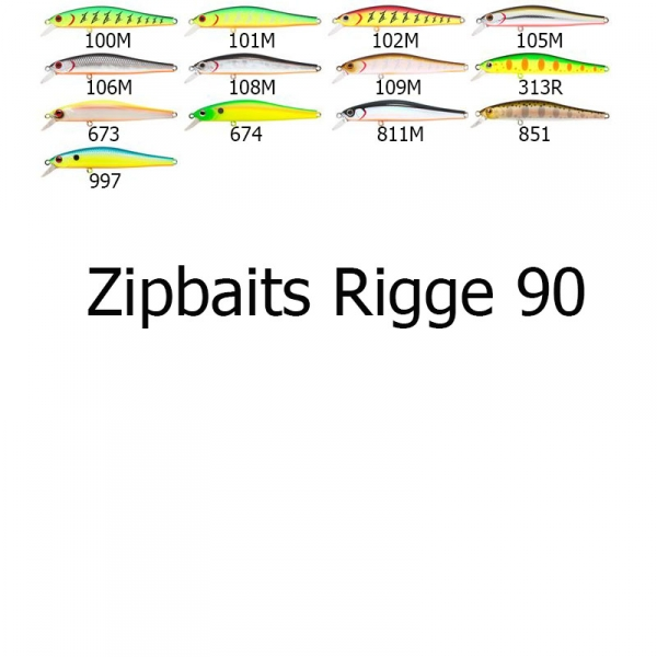 ZipBaits Rigge 90SP